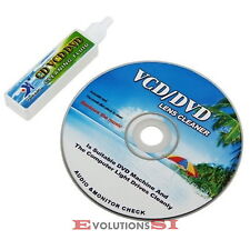 KIT LIMPIADOR DE LENTES DVD CD-ROM CD VCD PS2 PS3 LENS CLEANER ORDENADOR