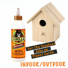 GORILLA WOOD GLUE 236ml Indoor Outdoor Strong Clear Fast Drying Water Resistant