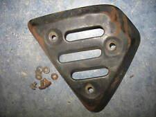 EXHAUST MUFFLER PIPE COVER GUARD SHIELD B 1978 YAMAHA XT500 XT 500 78