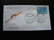 MADAGASCAR - enveloppe 5/4/73 - volva volva  - yt n° 519 - (cy6)