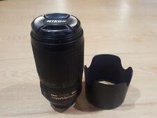 Nikon AF-S Nikkor 70-300 mm f/4.5-5.6 Lens G ED VR Ottime Condizioni
