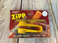Vintage DAZEY ZIPP Opens Bags and Wraps Instantly NEW OLD STOCK from 1982