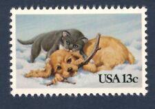 2025 Christmas Kitten & Puppy Us Single Mint/nh (free shipping)