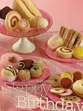 Knitted Cakes , Biscuits & Sandwiches Tea Party Knitting Pattern