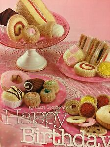 Knitted Cakes , Biscuits & Sandwiches- The Full Tea Party Knitting Pattern