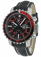 FORTIS b-42 marinemaster Cronografo Day/Date Automatico RED 671.23.43 l.01
