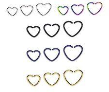 Liebe & Herzen Piercing-Schmuck aus Titan
