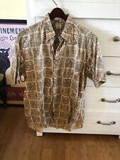 Vintage 1950s Fenn Feinstein Madras Button Down Shirt Ivy Trad Prep Medium Chipp