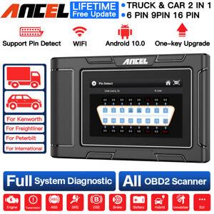 ANCEL HD3100 Full System Heavy Duty Diesel Truck Scanner Pin Detect Diagnostic