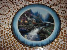 """Thomas Kinkade """"Candlelight Cottage� ~Lenox Plate #2841"""