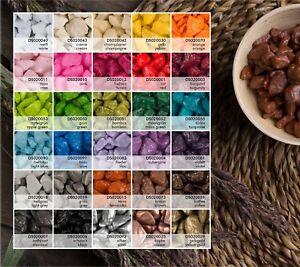 1 kg Dekosteine 9-13 mm 30 Farben Streudeko Farbsteine Dekokies Dekogranulat