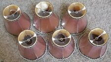 Fuloon Vintage Style Droplight Wall Lamp Cover Candle Chandelier Lampshade 6pcs