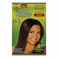 2 APPLICATIONS -  Olive Oil Conditioning No Lye Hair Straightener SUPER
