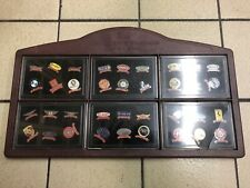 More details for 3m exclusive edition - car racing marques - 36 pin badge collection - 1900-2000