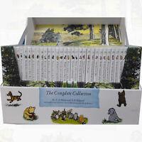 Winnie the Pooh Complete Collection 30 Books Box Set Baby/Nursery School NEW PB
