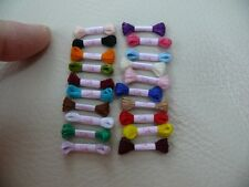 1/12th dolls house - 20 SILK THREAD SKEINS - SG