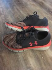 Under Armor Speedoform Fortis 2 Athletic Shoes Womens  8 Gray Coral