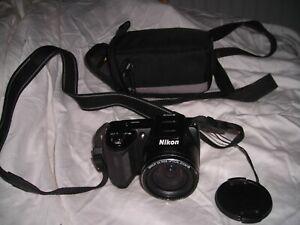 Nikon COOLPIX L110 12.1MP Digital Camera with Nikkor Wide Optical 15x Zoom Lens