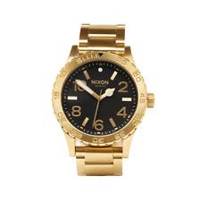 Nixon - 46 Watch - All Gold/Black
