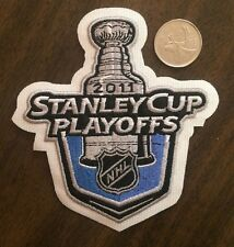 "NHL Stanley Cup 2011 Logo/ Patch 4""x4""inch Sew On / Iron On"