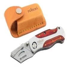 Couteau utilitaire lock-back Pliant Cuir Ceinture Pochette Stanley lames pas inc..
