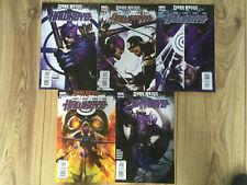 Dark Reign: Hawkeye 1-5 (2009) Marvel Comics complete mini-series 2 3 4