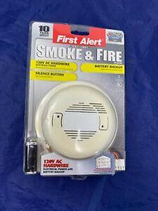 New First Alert Ultimate Smoke and Fire Alarm SA4121B - Read Desc