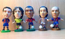 CORINTHIAN JOB LOT OF 5 BARCELONA PROSTAR FOOTBALL FIGURES LOT 28