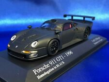 Minichamps PORSCHE 911 GT1 1/43 1966 Limited HOMOLOGATION IN BLACK No.433966693
