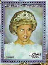 PRINCESS DI  2 Memorial Stamp Sheets  Equatorial Guinea