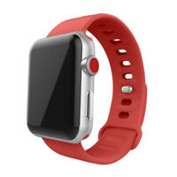 Replacement Soft Silicon Sport Watch Band for Apple Watch Strap iWatch 38mm 42mm