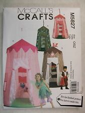 Kids Play Canopy Tent sewing pattern McCalls M5827 See Full Listing Info