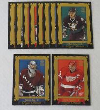 2002-03 Crown Royale Portaits Set (1-10) Roy Yzerman Nash