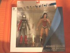 DC Collectibles Justice League Wonder Woman vs Katana Figures  NEW