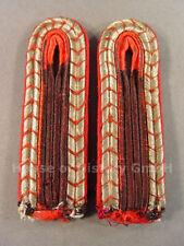 94284 Feuerwehr, Paar Schulterstücke für Truppmänner der Feuerschutzpolizei 1939