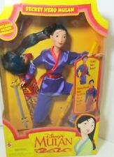 Disney Secret Hero Mulan 18896 Cut Her Hair Barbie Doll 1997