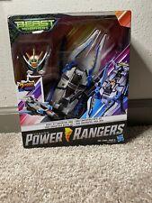 Power Rangers Beast Morphers Beast Jet Converting Zord Robot Action Figure (New)