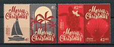 Aitutaki Cook Isl 2017 MNH Christmas Boats Trees Turtles Seashells 4v Set Stamps