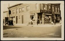 YZ0065 New York City - Sunrise Meat Market - Foto d'epoca - 1938 vintage photo