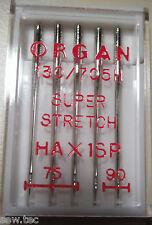 Organ heim-nähmaschine Nadeln super dehnbar Mix Größe Befestigung Brother Janome