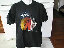 Johnny Winter vintage t shirt 25 years on the road rock blues country