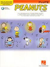 Peanuts Play-Along Flute Querflöte Noten mit Download Code