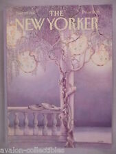 New Yorker Magazine - June 29, 1981 - FRONT COVER ONLY ~~ Jenni Oliver art