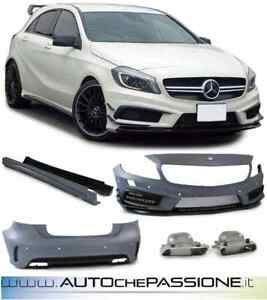 Kit paraurti AMG-look Pack Mercedes Classe A W176 dal 2012>2018 A45 A M G