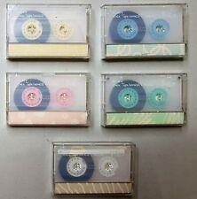 LOTTO di 5 MC Audiocassette SONY A·la? 46 minuti  - Vintage & Rare