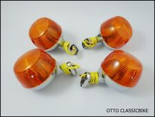 HONDA SS50 CD50 CD65 CD70 SL90 SL100 SL125 CL50 CL70 F&R Turn signal  METAL 4Pcs