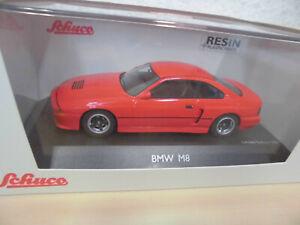 Schuco PRO.R43 1:43 - BMW M8 (E31) Concept - rot / rosso - 450902600