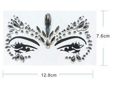 Gesicht und Körper Juwelen Edelstein Glitter MAKE-UP für Party BFG21 klar