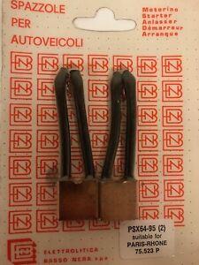 Set Coals Psx 64-95 for Renault R15,R16,R17 Starters Paris Rhone
