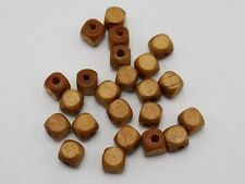 500 pcs Natural Look Cube Wood Beads Wooden Beads Spacer 6X6mm